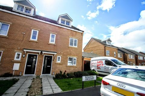 3 bedroom townhouse for sale - Sugarhill Crescent, Newton Aycliffe