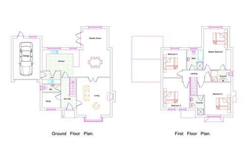 4 bedroom detached house for sale - Carthorpe, Bedale