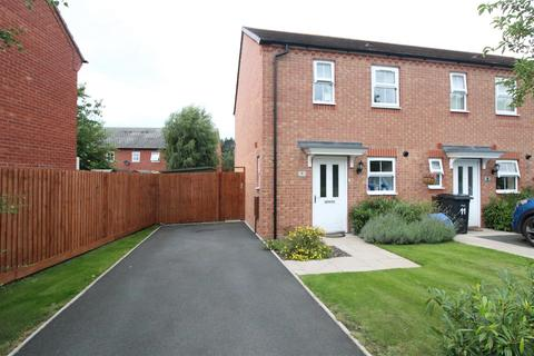 2 bedroom end of terrace house for sale - Stall Meadow, Wem, Shropshire
