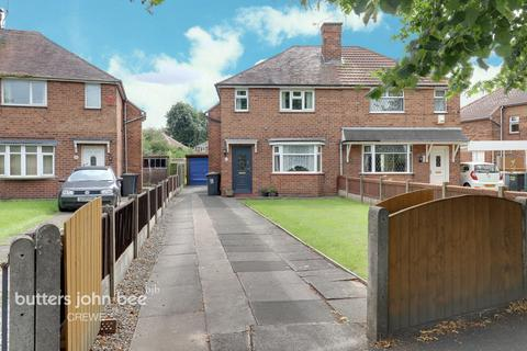 2 bedroom semi-detached house for sale - Bradfield Road, Crewe