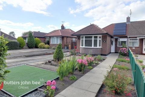 2 bedroom semi-detached bungalow for sale - Crewe Road, Crewe