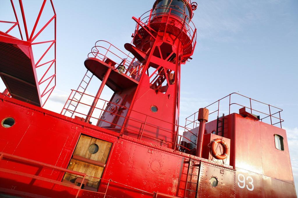 Light Vessel 93 exterior; Victoria Docks