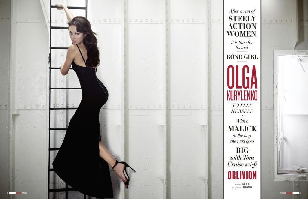 Image 10 of 15: Professional photo shoot Olga Kurylenko Light Vessel 93