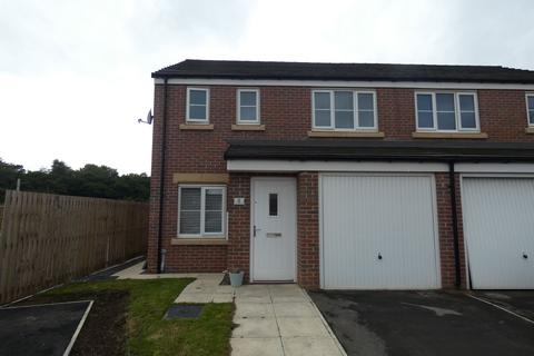 3 bedroom semi-detached house for sale - Harbottle Walk, Crofton Grange, Blyth, Northumberland, NE24 4RU