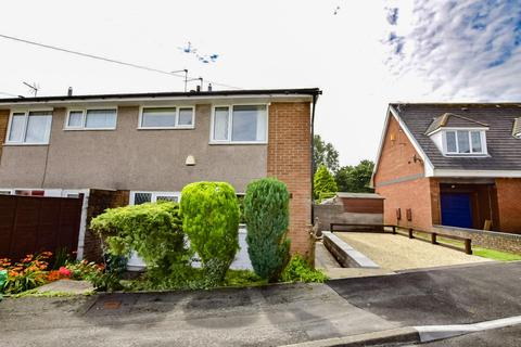 2 bedroom end of terrace house for sale - Laburnum Close, Barry