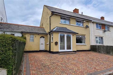 3 bedroom end of terrace house for sale - Devon Avenue, Barry