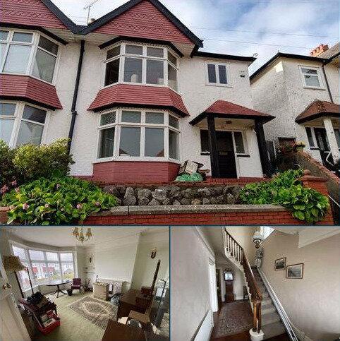 4 bedroom semi-detached house for sale - Long Oaks Avenue, Uplands, Swansea
