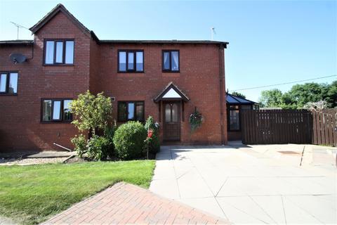 2 bedroom semi-detached house for sale - 5 Bullcroft Close, Shocklach, SY14 7BU