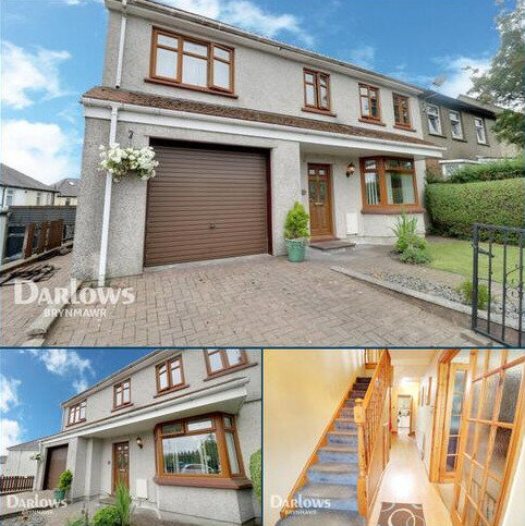 4 bedroom semi-detached house for sale - Badminton Grove, Ebbw Vale