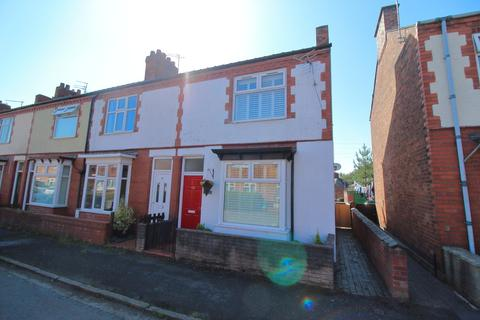 3 bedroom end of terrace house for sale - Romanes Street, Northwich