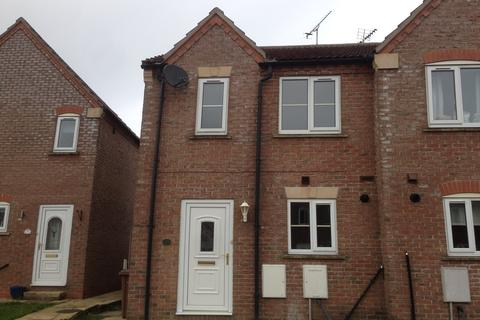 2 bedroom end of terrace house to rent - Reynard Close, Cranswick