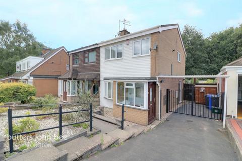 3 bedroom semi-detached house for sale - Delaney Drive, Parkhall, ST3 5RL