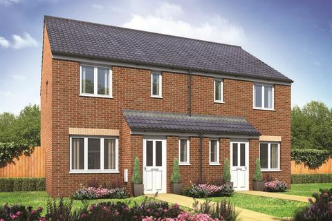 3 bedroom semi-detached house for sale - Plot 410-o, The Hanbury  at Bluebell Meadow, Colby Drive, Bradwell NR31