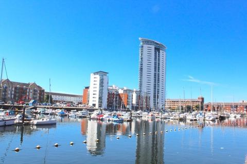 2 bedroom apartment to rent - Meridian Tower, Trawler Road, Maritime Quarter, Swansea