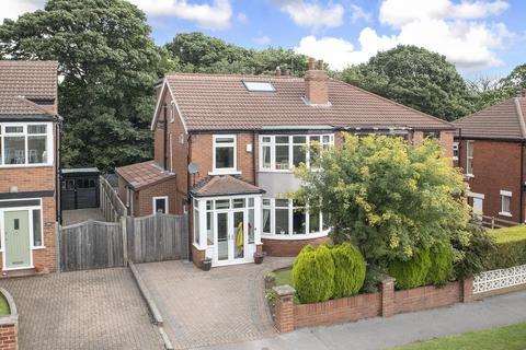 4 bedroom semi-detached house for sale - West Park Drive West, Roundhay, Leeds, LS8 2DA