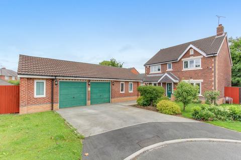 4 bedroom detached house for sale - Castlemere Close, Broughton