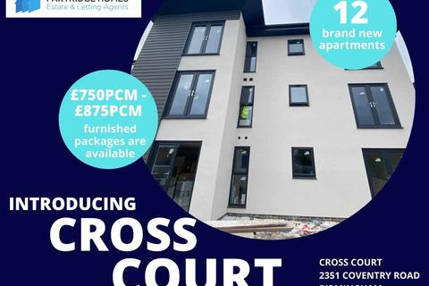 2 bedroom apartment to rent - Cross Court, 2351 Coventry Road, Birmingham