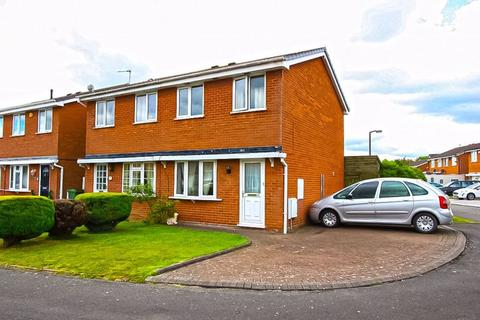 2 bedroom semi-detached house for sale - Bembridge Close, Coppice Farm, Willenhall