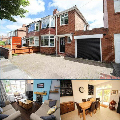 3 bedroom semi-detached house for sale - Cleveland Gardens, High Heaton, Newcastle Upon Tyne
