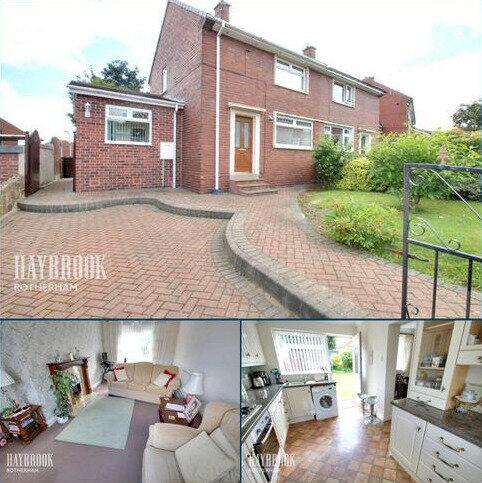 2 bedroom semi-detached house for sale - Becket Crescent, Kimberworth Park