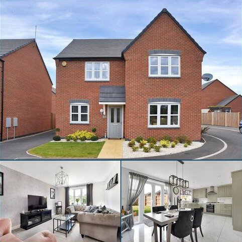 4 bedroom detached house for sale - Taylor Drive, Sileby, Loughborough