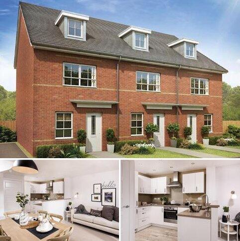 4 bedroom terraced house for sale - Plot 7, Kingsville at Emberton Grange, Hassall Road, Alsager, STOKE-ON-TRENT ST7