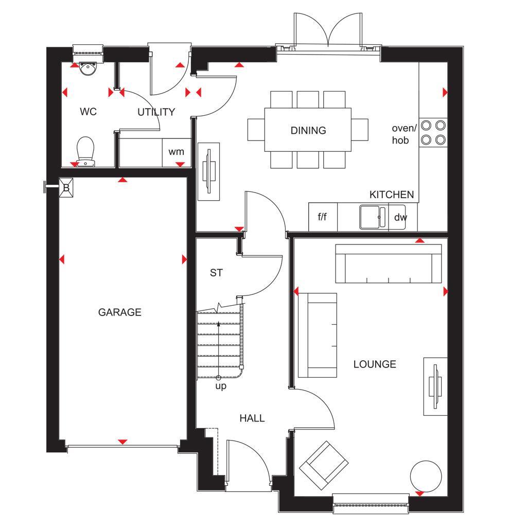 Floorplan 1 of 2: 2018 Dunbar GF Plan