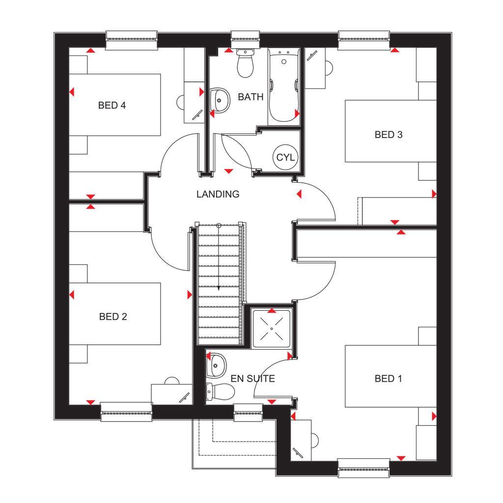 Floorplan 2 of 2: 2018 Dunbar FF Plan