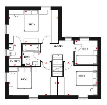 Floorplan 2 of 2: Alderney ff