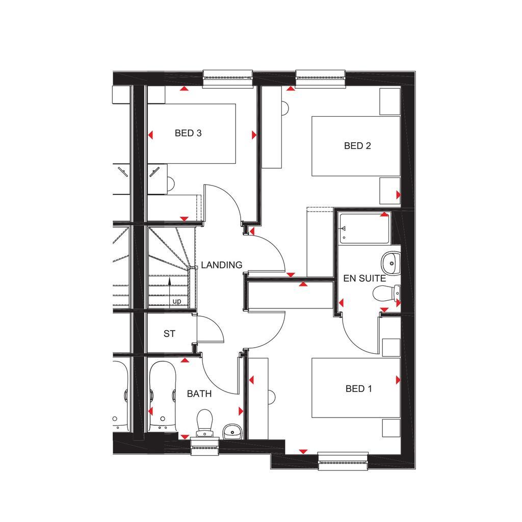 Floorplan 2 of 2: Craigend 2018 floorplan layout September 2019