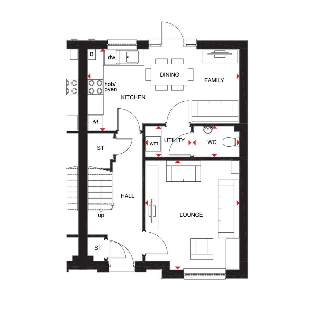 Floorplan 1 of 2: Craigend 2018 floorplan layout September 2019