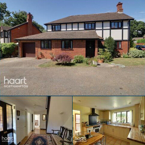 4 bedroom detached house for sale - Holbein Gardens, Northampton