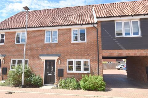 3 bedroom end of terrace house for sale - Nightingale Way, Martlesham, IP12 4UJ