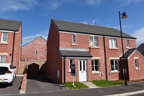 3 bedroom semi-detached house - 13 Tal Coed, Coity, Bridged, CF35 6QA