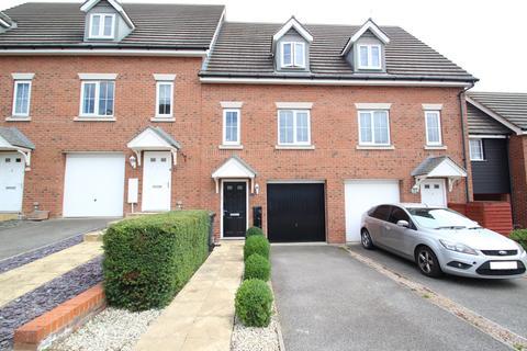 3 bedroom townhouse for sale - Guillemot Close, Stowmarket, IP14