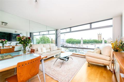 2 bedroom flat to rent - Parliament View Apartments, 1, Albert Embankment, London