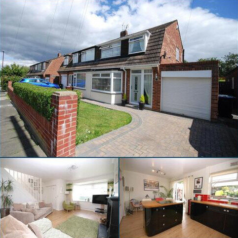 3 bedroom semi-detached house for sale - Acomb Crescent, Gosforth