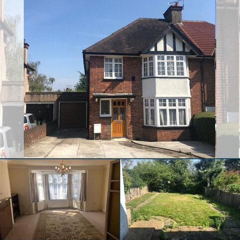 3 bedroom semi-detached house to rent - Manor Park Gardens, London HA8