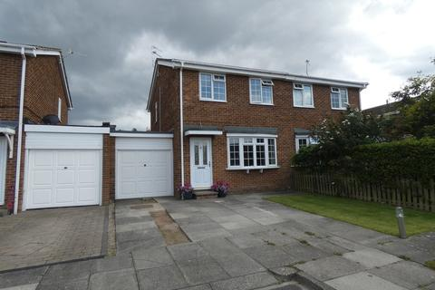 3 bedroom semi-detached house for sale - Bradbury Place, New Hartley
