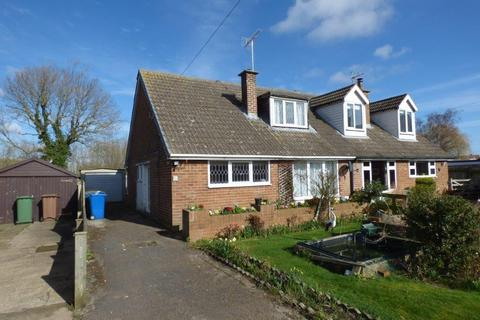 3 bedroom semi-detached bungalow for sale - Wharram Field, Beeford, Driffield