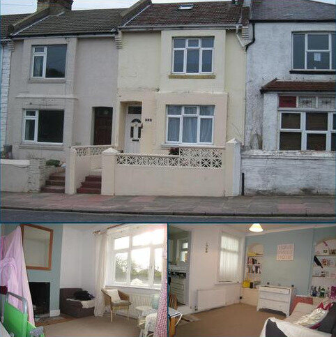 3 bedroom terraced house to rent - Bear Road, Brighton BN2