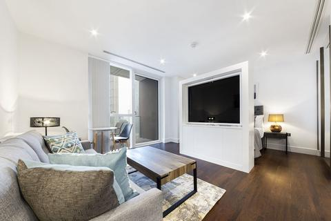 Studio to rent - Maine Tower, 9 Harbour Way, Canary Wharf, London, E14
