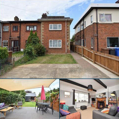 3 bedroom end of terrace house for sale - Brunswick Road, Ipswich IP4 4BP