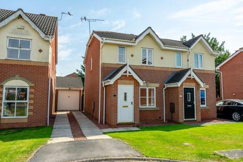 2 bedroom semi-detached house for sale - Braithegayte, Wheldrake, York