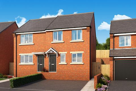 3 bedroom house for sale - Plot 21, The Hawthorn at Byron Mews, Seaham, Off Heathway, Seaham SR7