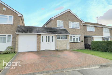 3 bedroom detached house for sale - Pevensey Close, Luton