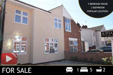 5 bedroom semi-detached house for sale - Harrison Road, Leicester, LE4