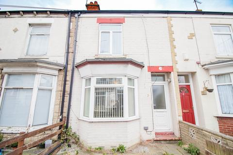 2 bedroom terraced house to rent - Edmonton Villas, Ceylon Street, Hull HU9