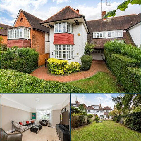 5 bedroom detached house for sale - West Heath Drive, London, NW11