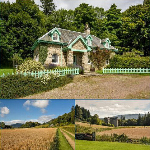 3 bedroom detached house for sale - Middle Lodge, Castle Menzies, Aberfeldy, Perthshire, PH15